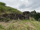 櫓台南側の石垣