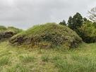 虎口南側の石垣