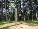 本丸と城阯碑
