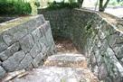 搦手門の石垣