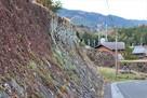 上屋敷東側石垣…