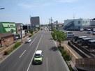 歩道橋から眺望