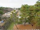 東南隅櫓から見た本丸空堀