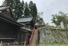 櫻山神社にある烏帽子岩…