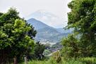 前曲輪から富士を望む…