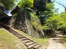 桜馬場と石垣