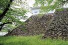 横矢掛の高石垣…