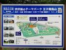 飛鳥山公園案内板
