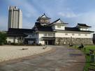 本丸広場の富山郷土博物館