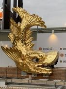名古屋城の金鯱(雌)