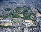 姫路城を中心とした市街地空撮(改修前)…