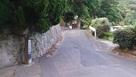 山麓の登城口