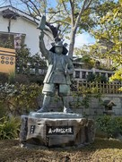 真田幸村像(三光神社)…