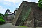 二様の石垣と本丸御殿、そして大天守…
