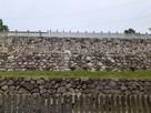 神吉八幡神社の石垣…