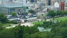市役所展望台からの城址公園