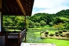 近水園(吟風閣からの庭園)…