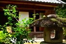 旧藩邸(庭から)…