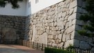 鉄門桝形の石垣