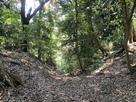 三の木戸の竪堀…