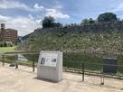 石垣(西側から)…