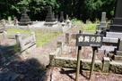 墓地も曲輪跡
