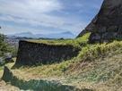 大山と石垣