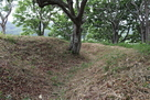 二重壕の内側の壕…