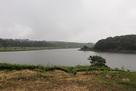 春彩湖を望む