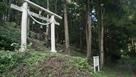 登城口(桑山神社の鳥居)…