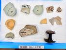 三木郭から出土した、18・19世紀の陶磁…