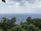 二ノ丸史跡碑廓より、北大阪を遠望…