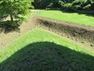 先端の空堀