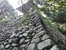 天守台北方側石垣