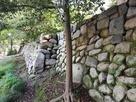 天守台西方側石垣