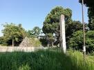 城址碑と天守台