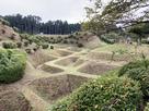 山中城 西櫓と西ノ丸の間の障子堀