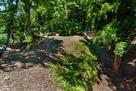 2郭の南の馬出と空堀、土橋…