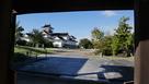 千歳門からの富山郷土博物館…