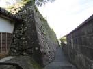 北大手門の石垣…