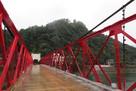 国指定重要文化財「美濃橋」と小倉山城…