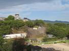 熊本ホテルキャッスルの窓から…