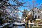 八幡堀雪景色