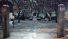 直江兼続屋敷跡にある山鹿素行誕生の石碑…