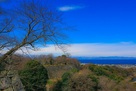 着見台から琵琶湖方面…
