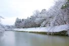 内堀雪景色