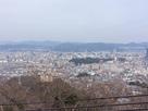 頂上からの広島市内を見る…