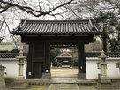 膳所神社に移築されたという城門…