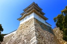 明石城 下から巽櫓…