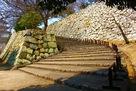 明石城 二の丸への道…
